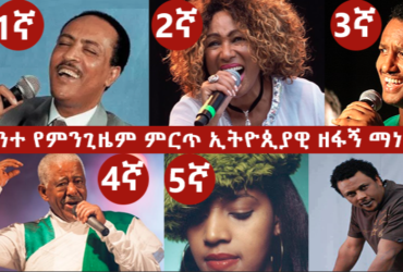 Best Musician 1 370x250 - Best Ethiopian Singer of All Time