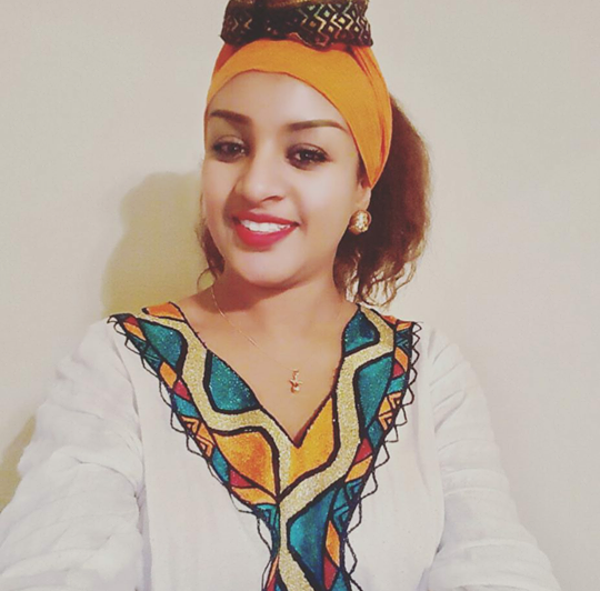Aziza Ahemed - The best Ethiopian Celebrities Epiphany Photo