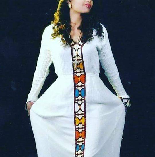 Dagmawit Tsehaye 540x544 - The best Ethiopian Celebrities Epiphany Photo
