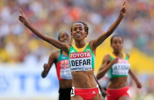 meseret - The Best Female Athlete of All Time