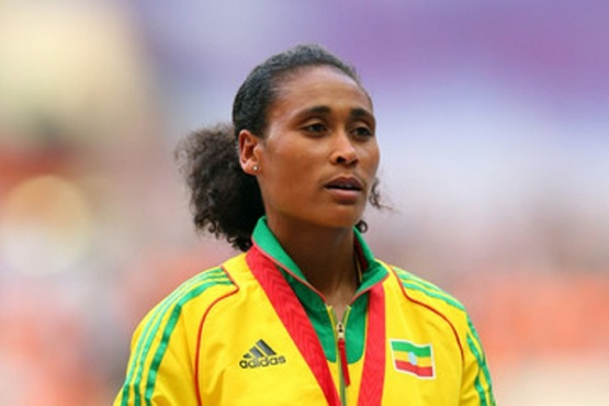 Sofia Assefa Silver Medal winner from London Olympic source FBC - The Best Female Athlete of All Time