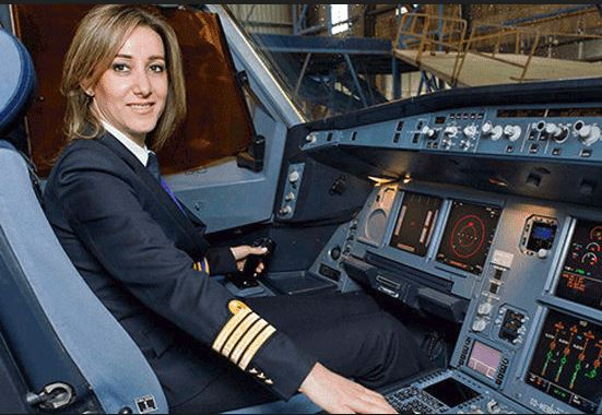 Airplane Capitain - The best job for women