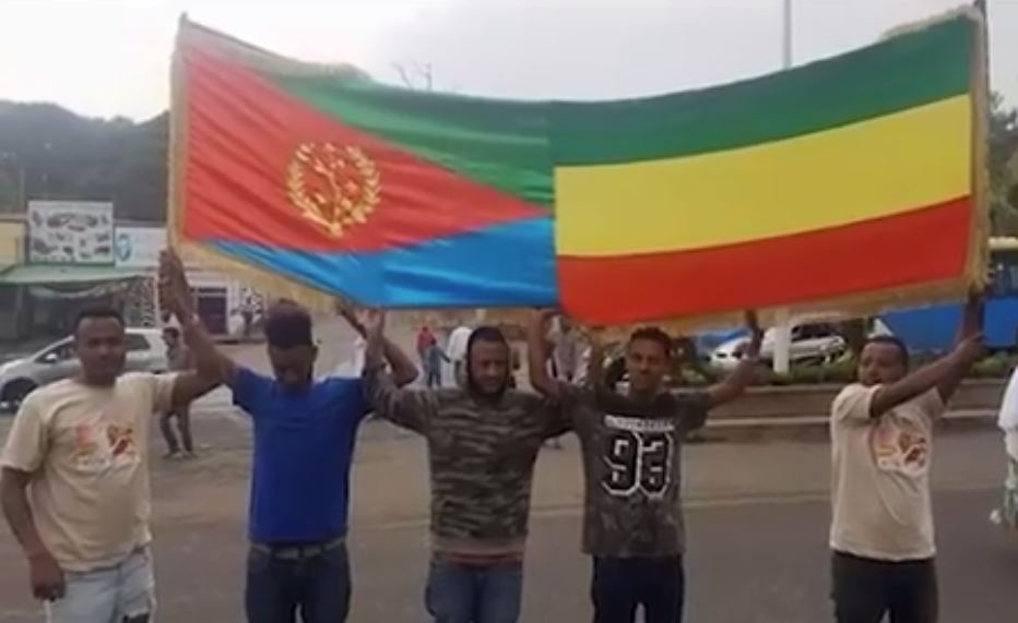 Ethiopia and Ertira - The best message on Saturday's people demonstration to support Dr Abiy Ahemed