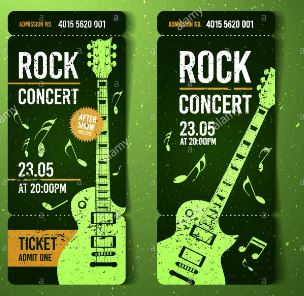 concert Ticket - The best graduation gift for 2010 E.C