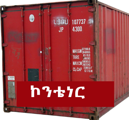 Container - Things that are common in almost all Ethiopian Music Videos