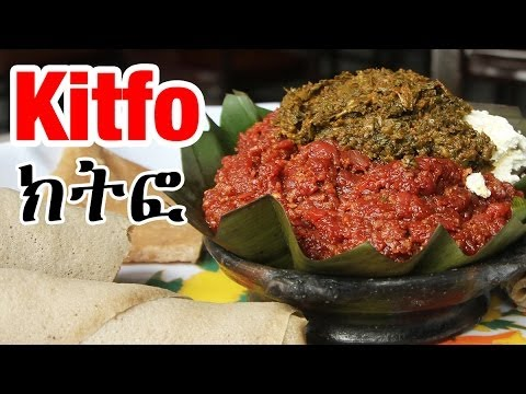 Ethiopian Kitfo  - The Best Food for Successful First Date