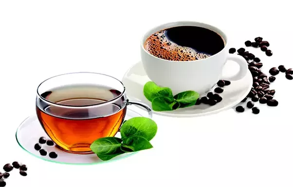 tea and coffee - The Best Food for Successful First Date