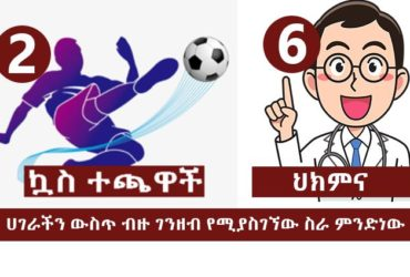 Jobs1 370x250 - Best highest-paying jobs in Ethiopia, based on people opinion