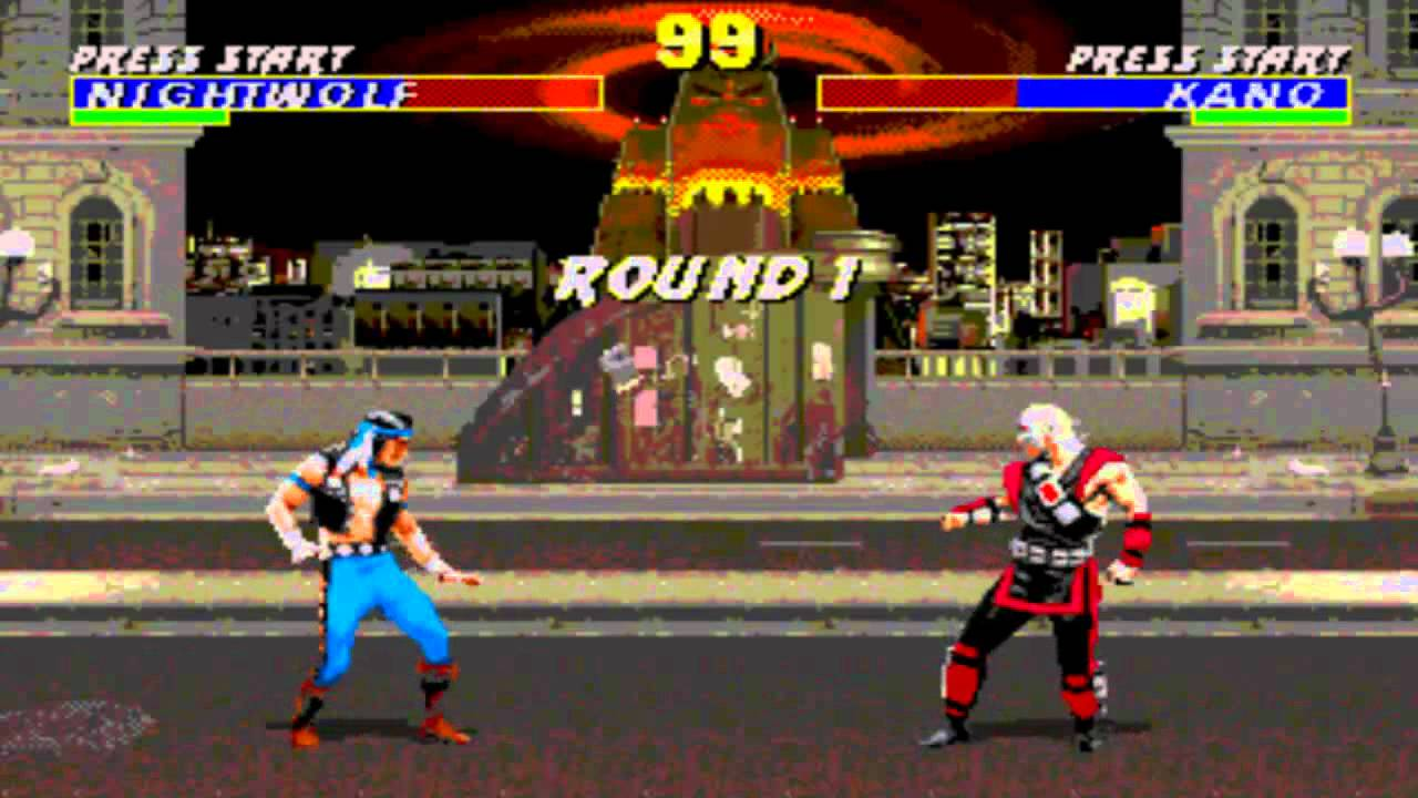 mortal kombat - The Best TV Game Played By Ethiopians