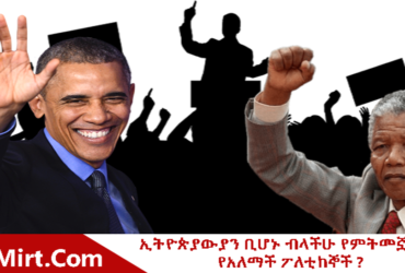 Leaders 370x250 - Politician You Wish If They Would Be Ethiopian